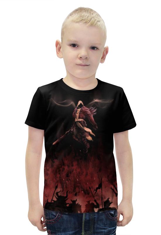 Футболка с полной запечаткой для мальчиков Printio Тираэль футболка с полной запечаткой для мальчиков printio bats spawn arsb