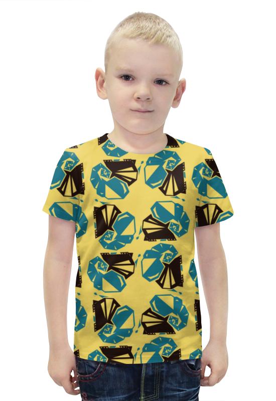 Футболка с полной запечаткой для мальчиков Printio Слоны футболка с полной запечаткой для мальчиков printio bats spawn arsb