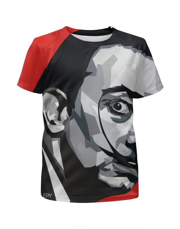 Футболка с полной запечаткой для мальчиков Printio Сальвадор дали футболка с полной запечаткой для мальчиков printio москва россия