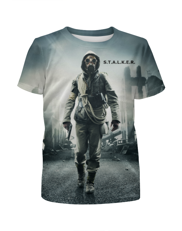 Printio Сталкер, s.t.a.l.k.e.r. футболка wearcraft premium printio сталкер