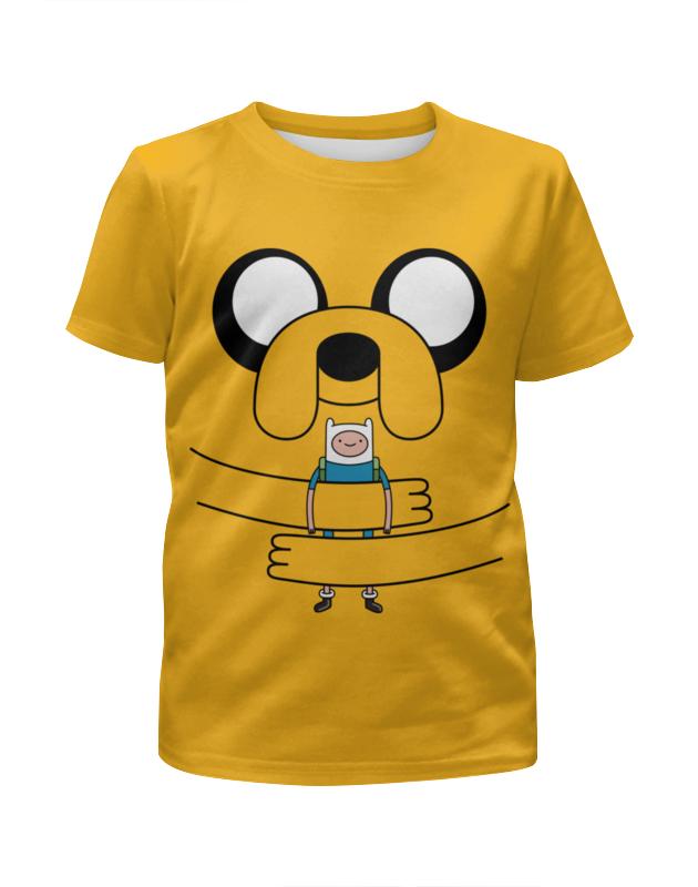Футболка с полной запечаткой для мальчиков Printio джейк пёс. время приключений футболка с полной запечаткой мужская printio джейк пёс время приключений