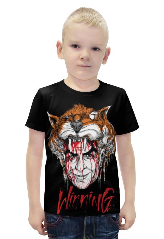Футболка с полной запечаткой для мальчиков Printio Winning футболка с полной запечаткой для мальчиков printio bats spawn arsb