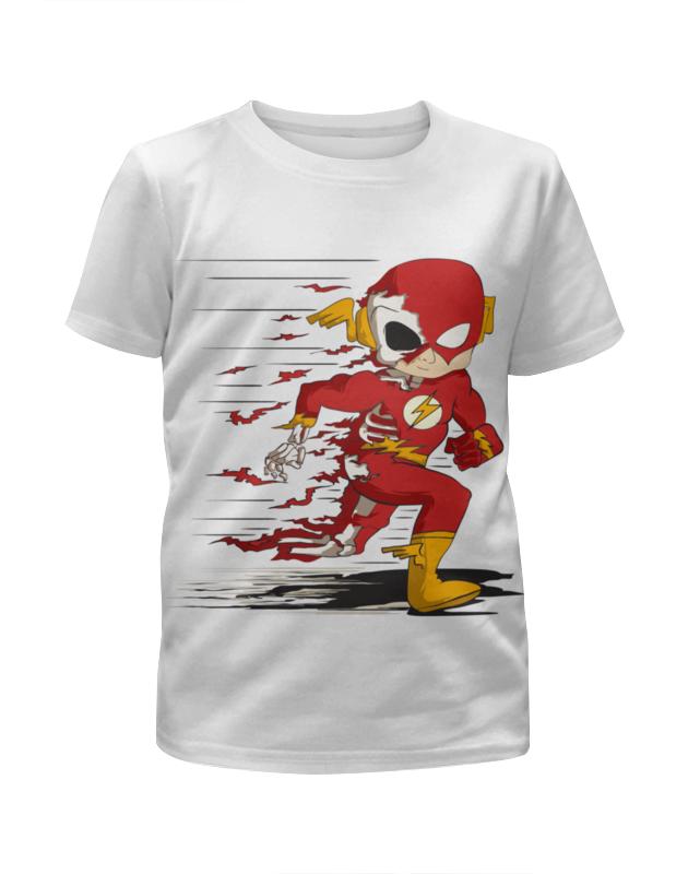 все цены на Футболка с полной запечаткой для мальчиков Printio Flash (the flash) онлайн