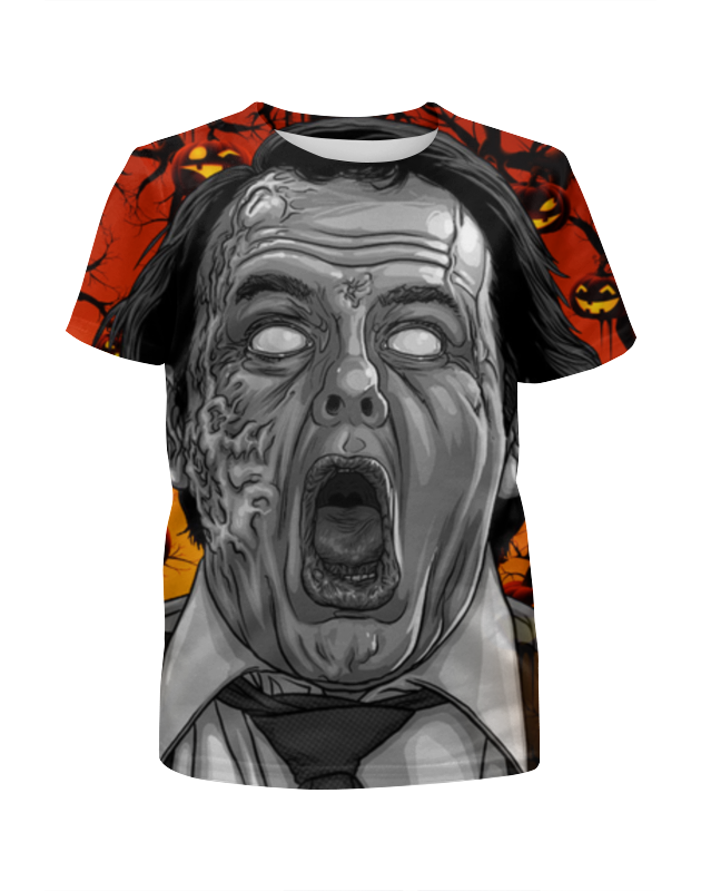 Футболка с полной запечаткой для мальчиков Printio Зомби хеллоуина футболка с полной запечаткой для мальчиков printio ночь всех святых
