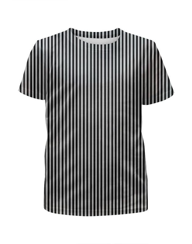 Футболка с полной запечаткой для мальчиков Printio Вертикальная полоска футболка с полной запечаткой для мальчиков printio иллюзия