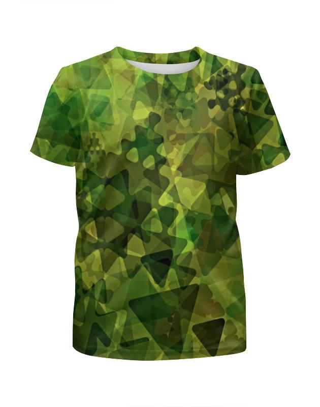 Футболка с полной запечаткой для мальчиков Printio Геометрия футболка с полной запечаткой для мальчиков printio акварельная геометрия