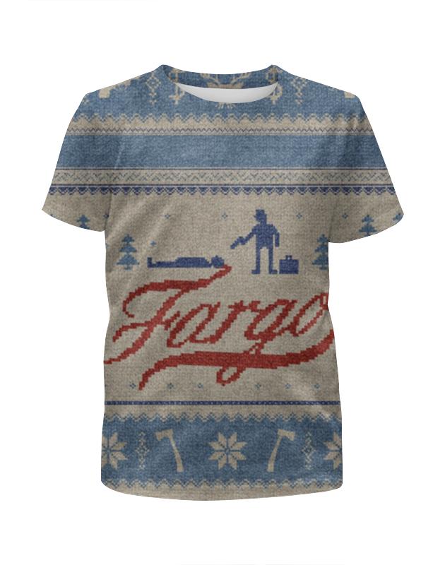 Футболка с полной запечаткой для мальчиков Printio Фарго / fargo футболка классическая printio фарго fargo