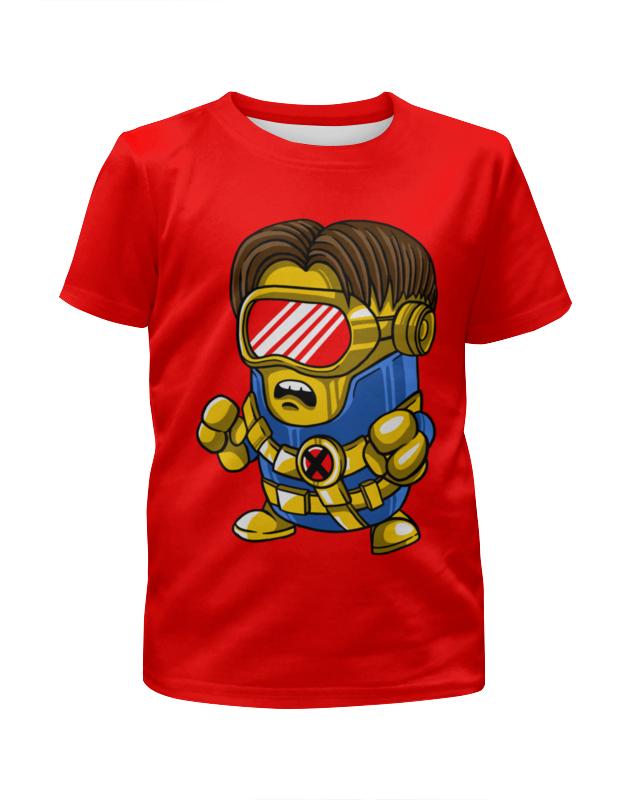 Футболка с полной запечаткой для мальчиков Printio Миньоны ( minions ) футболка с полной запечаткой для девочек printio миньоны minions