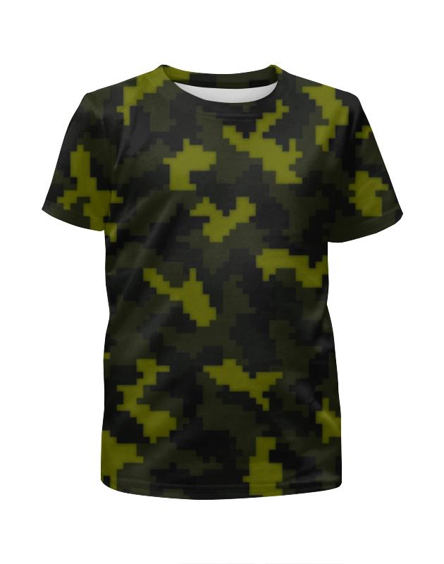 Футболка с полной запечаткой для мальчиков Printio Camouflage color футболка с полной запечаткой для мальчиков printio camouflage brown