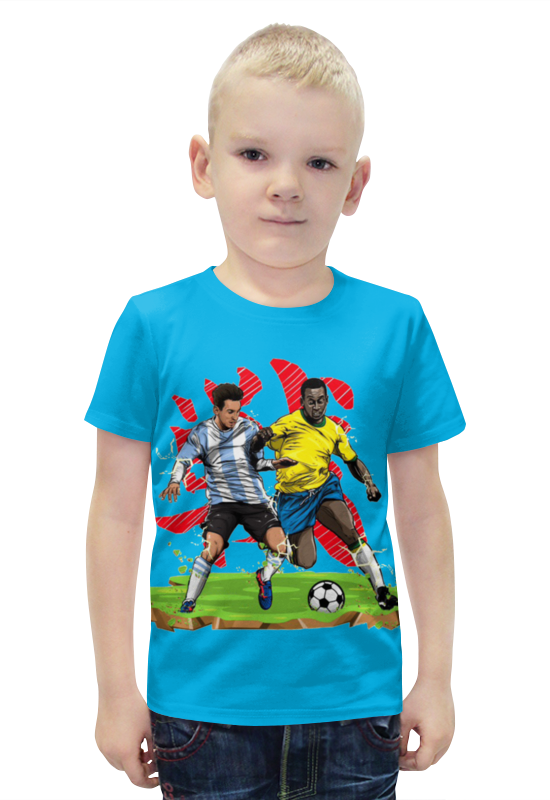 Футболка с полной запечаткой для мальчиков Printio Футболисты футболка с полной запечаткой для мальчиков printio bats spawn arsb