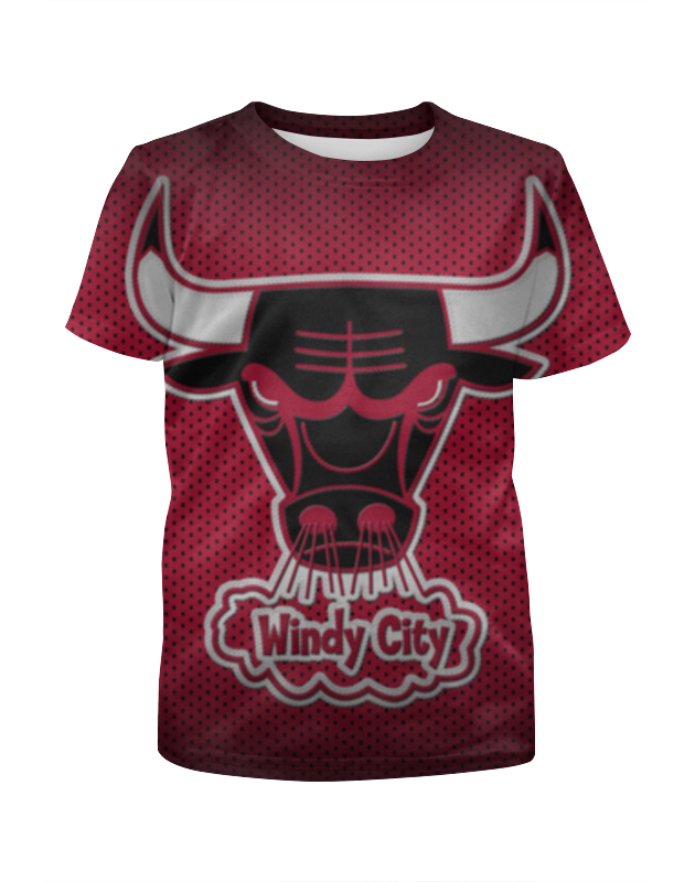 Футболка с полной запечаткой для мальчиков Printio Чикаго буллз (chicago bulls) велосипед bulls wildtail 2014