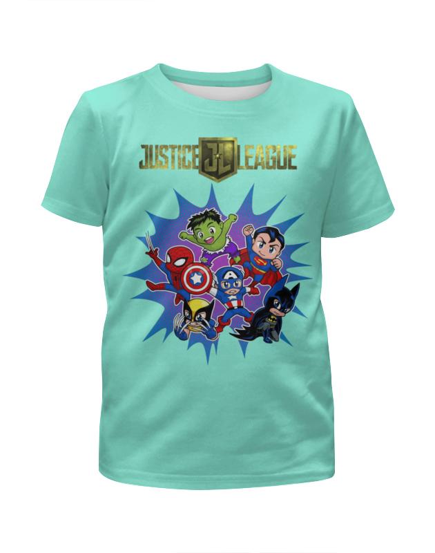 Printio Супергерои (1) футболка с полной запечаткой для мальчиков printio супергерои