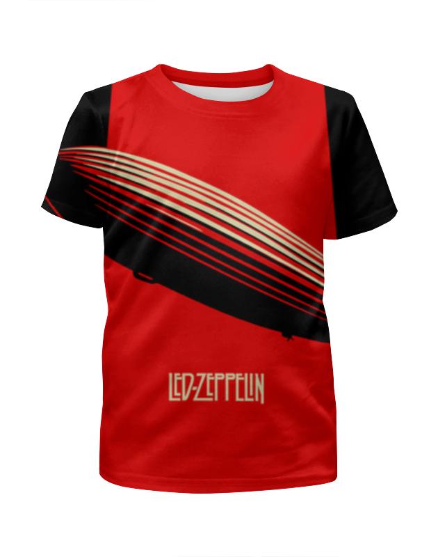 Футболка с полной запечаткой для мальчиков Printio Led zeppelin led zeppelin led zeppelin i deluxe edition 3 lp