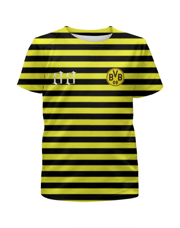 Футболка с полной запечаткой для мальчиков Printio Bvb09 футболка с полной запечаткой для мальчиков printio сланцы
