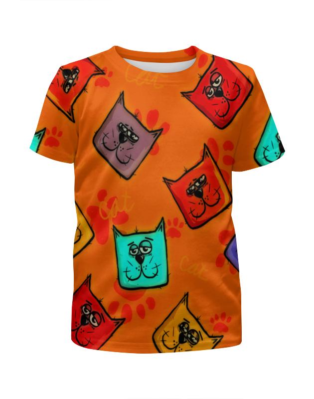 Футболка с полной запечаткой для мальчиков Printio Котики футболка с полной запечаткой для мальчиков printio котики