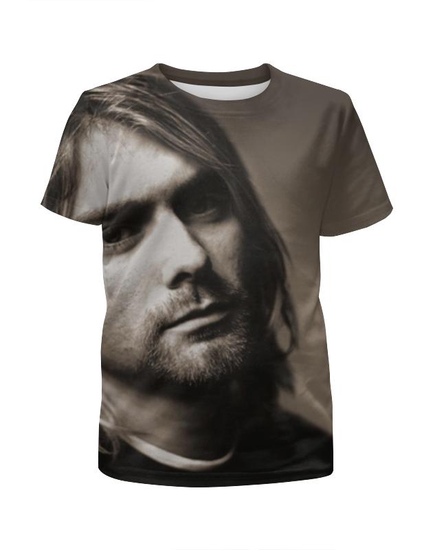 Футболка с полной запечаткой для мальчиков Printio Курт кобейн (nirvana) футболка с полной запечаткой для мальчиков printio гитарист