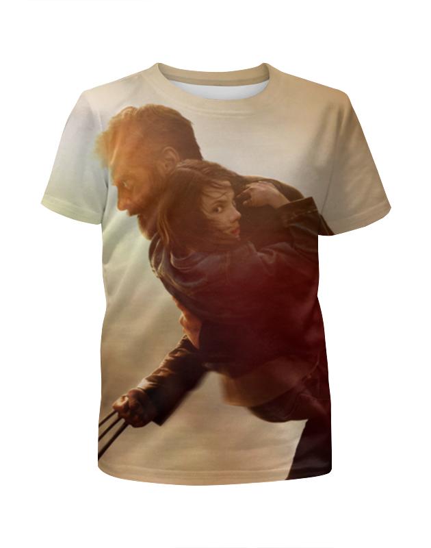 Футболка с полной запечаткой для мальчиков Printio Логан футболка с полной запечаткой для мальчиков printio bones brigade