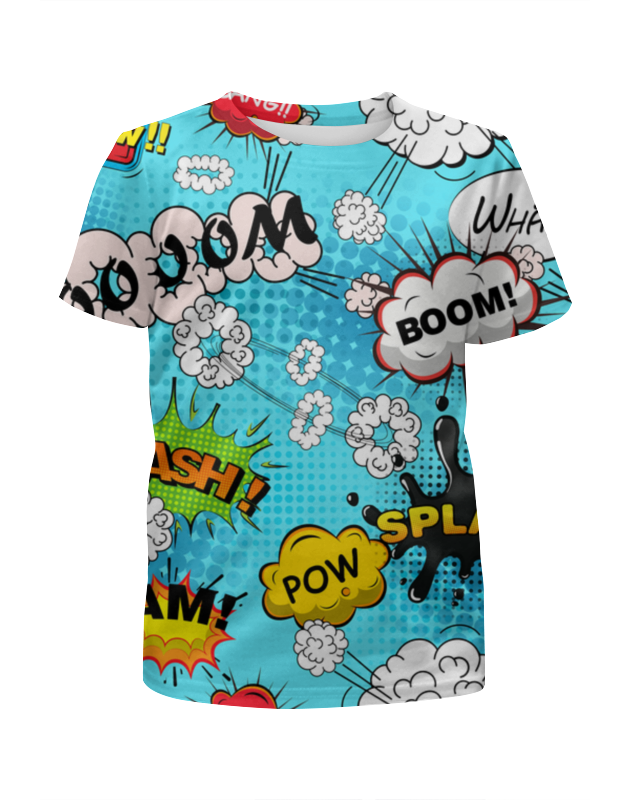 Футболка с полной запечаткой для мальчиков Printio Веселая абстракция футболка с полной запечаткой для мальчиков printio bats spawn arsb