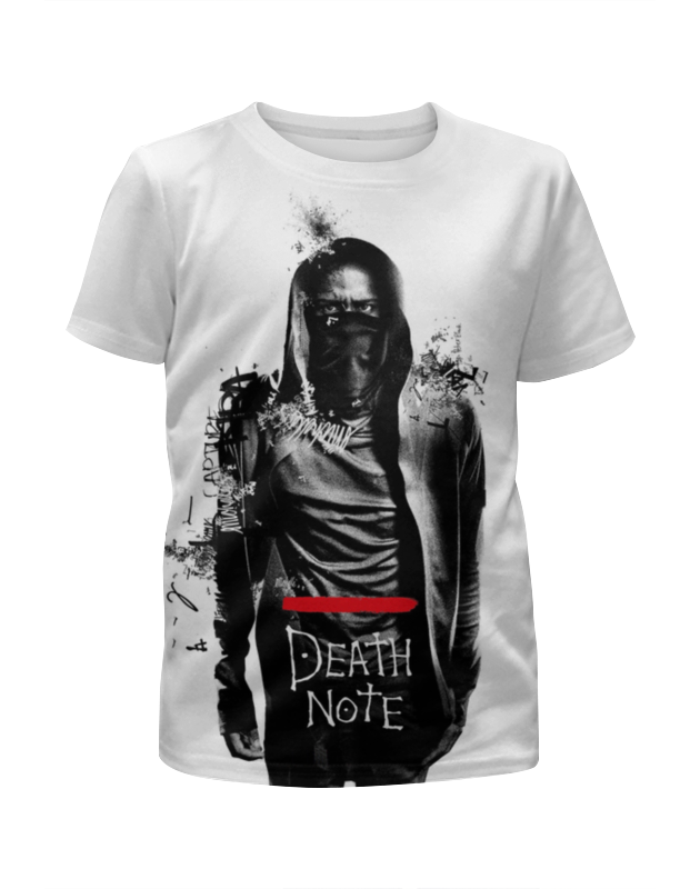 Футболка с полной запечаткой для мальчиков Printio Тетрадь смерти / death note 1pc worldiwde vintage unique death note book quartz pocket watch pendant necklace gift hot popular relogio de bolso