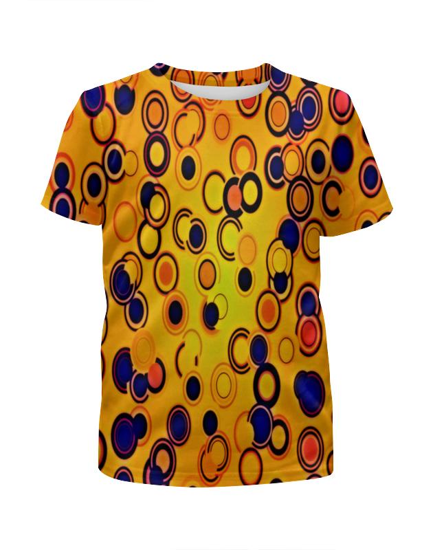 Футболка с полной запечаткой для мальчиков Printio Шары цветные футболка с полной запечаткой для мальчиков printio bats spawn arsb