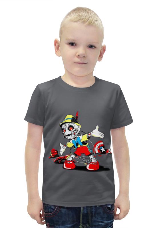 Футболка с полной запечаткой для мальчиков Printio Пиноккио футболка с полной запечаткой для мальчиков printio bats spawn arsb
