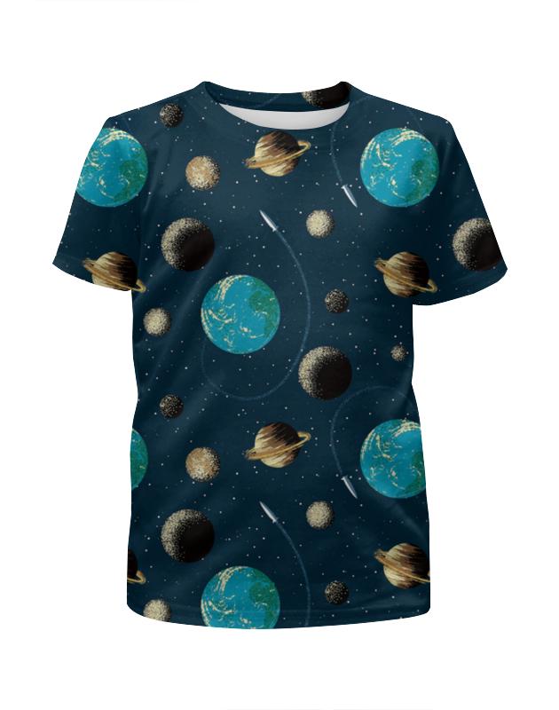 Футболка с полной запечаткой для мальчиков Printio Космос футболка с полной запечаткой для мальчиков printio на отдых