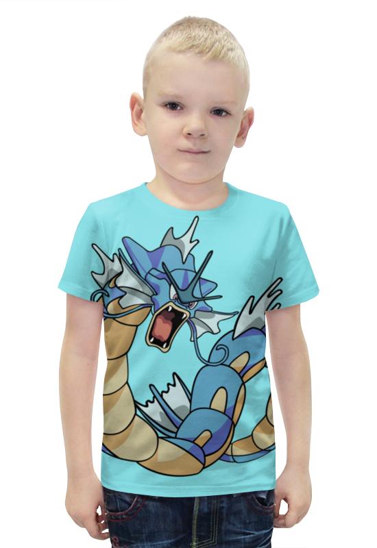 Футболка с полной запечаткой для мальчиков Printio Гяродос футболка с полной запечаткой для мальчиков printio bats spawn arsb