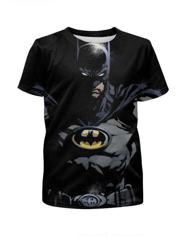 Printio Batman футболка с полной запечаткой для мальчиков printio batman forever
