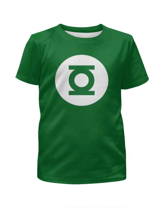 Футболка с полной запечаткой для мальчиков Printio Зеленый фонарь браслет trasense sh06 зеленый