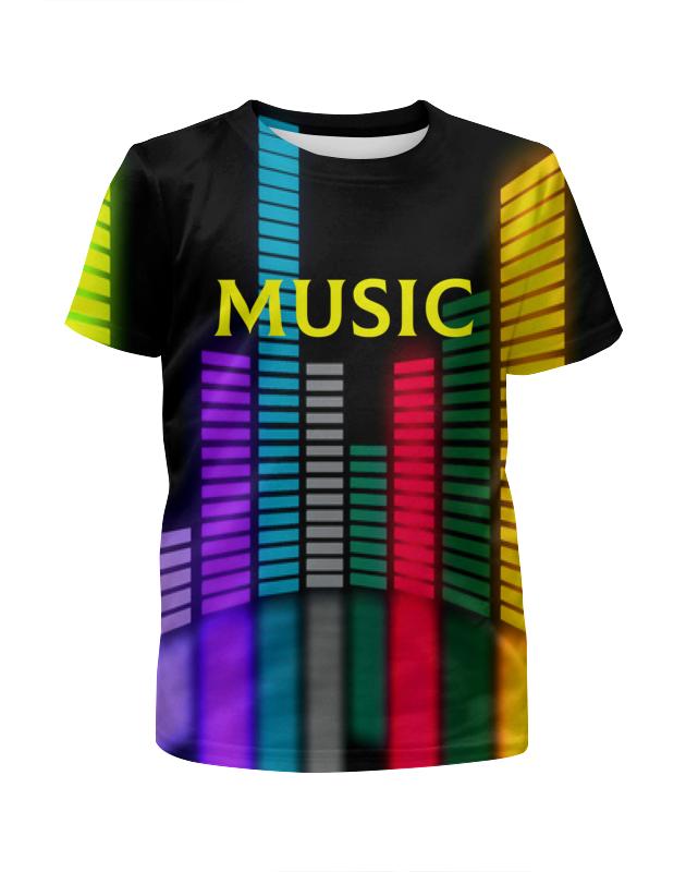 Printio Music футболка с полной запечаткой для мальчиков printio godzilla music