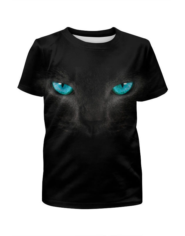 Футболка с полной запечаткой для мальчиков Printio Взгляд черной кошки футболка с полной запечаткой для мальчиков printio взгляд черной кошки