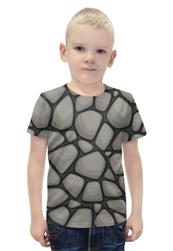Футболка с полной запечаткой для мальчиков Printio Камни футболка с полной запечаткой для мальчиков printio bats spawn arsb
