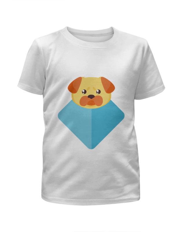 Футболка с полной запечаткой для мальчиков Printio Пёсик футболка с полной запечаткой для мальчиков printio braaaaatnsssss