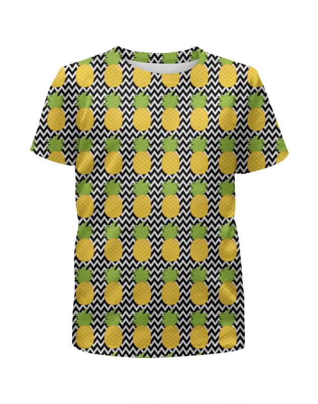 Футболка с полной запечаткой для мальчиков Printio Ананасы футболка с полной запечаткой для мальчиков printio добби