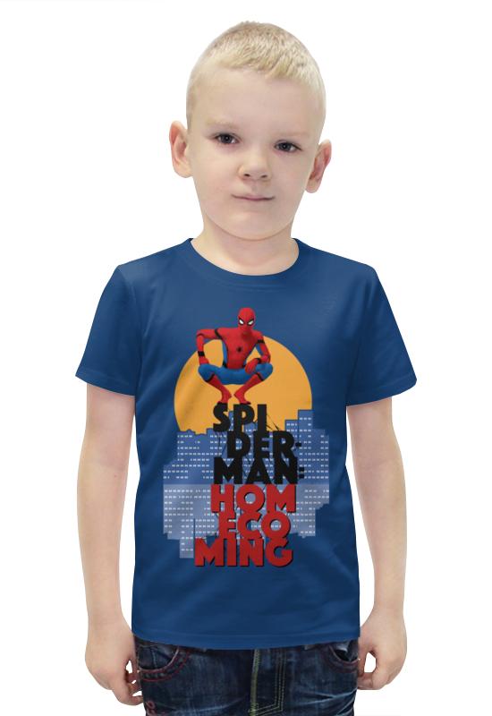 Футболка с полной запечаткой для мальчиков Printio Человек-паук футболка с полной запечаткой для мальчиков printio bats spawn arsb