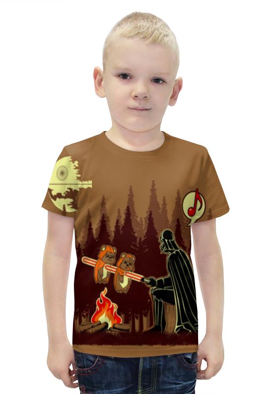 Футболка с полной запечаткой для мальчиков Printio Полнолуние футболка с полной запечаткой для мальчиков printio bats spawn arsb