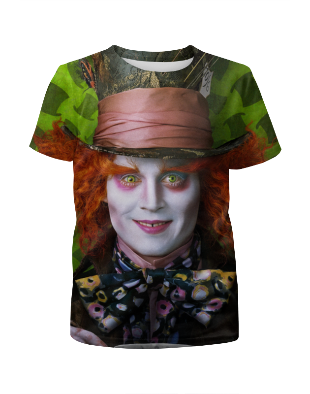 Printio Безумный шляпник футболка wearcraft premium printio безумный шляпник