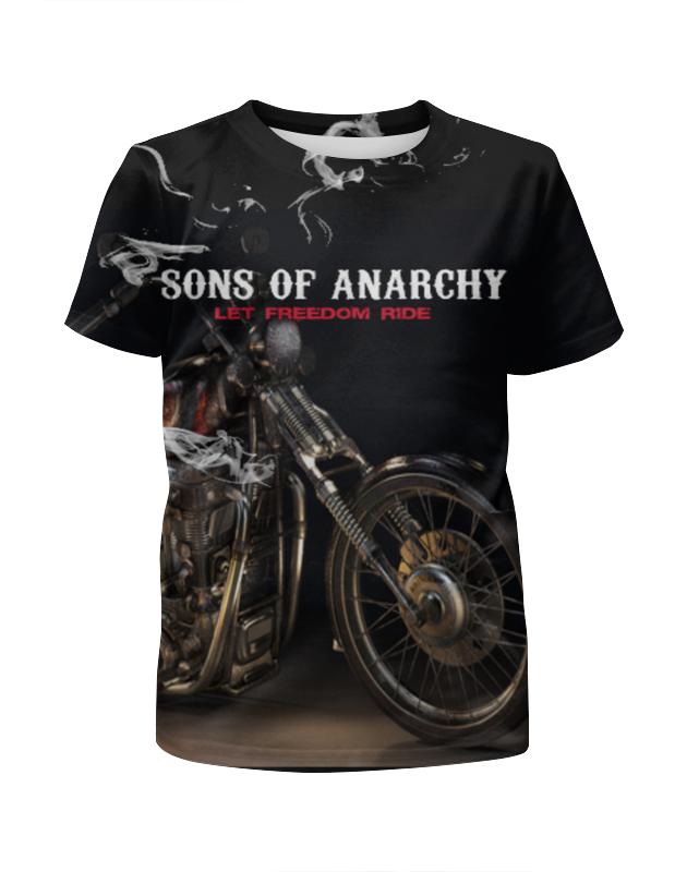 Футболка с полной запечаткой для мальчиков Printio Сыны анархии плакат a3 29 7x42 printio сыны анархии