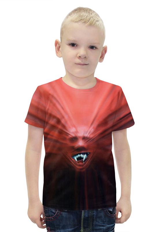 Футболка с полной запечаткой для мальчиков Printio Вампир футболка с полной запечаткой для мальчиков printio bats spawn arsb