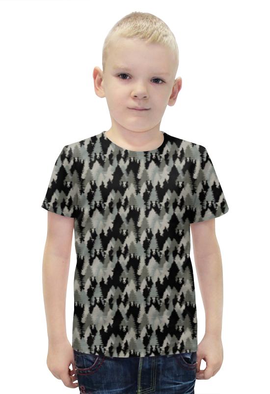 Футболка с полной запечаткой для мальчиков Printio Медведи футболка с полной запечаткой для мальчиков printio bats spawn arsb