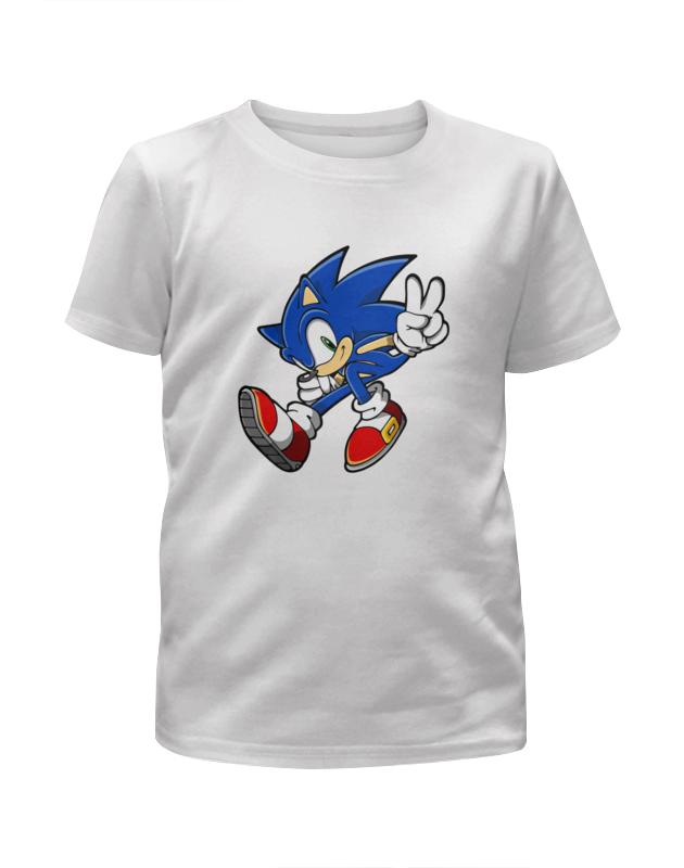 Футболка с полной запечаткой для мальчиков Printio Sonic футболка с полной запечаткой для мальчиков printio дефстроук ликвидатор