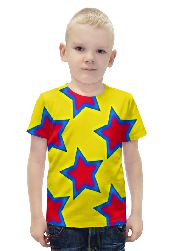 Футболка с полной запечаткой для мальчиков Printio Звезды футболка с полной запечаткой для мальчиков printio bats spawn arsb