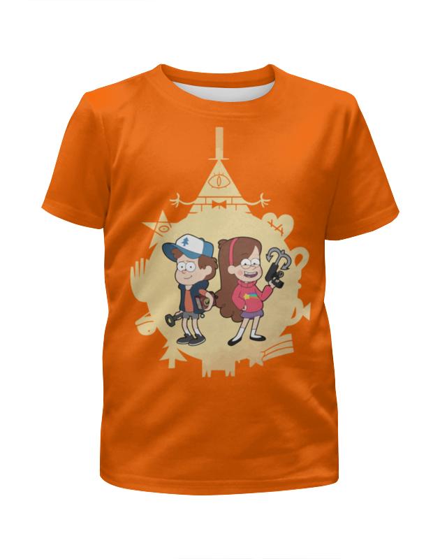 Printio Гравити фолз (gravity falls ) футболка с полной запечаткой для девочек printio гравити фолз gravity falls