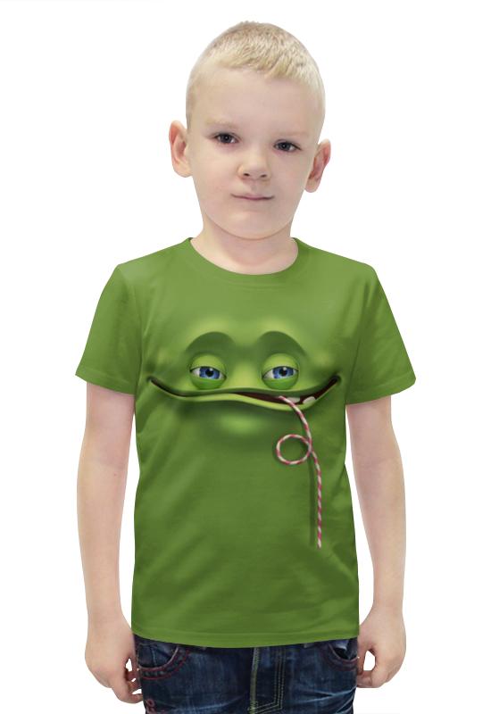 Футболка с полной запечаткой для мальчиков Printio Мульт футболка с полной запечаткой для мальчиков printio bats spawn arsb