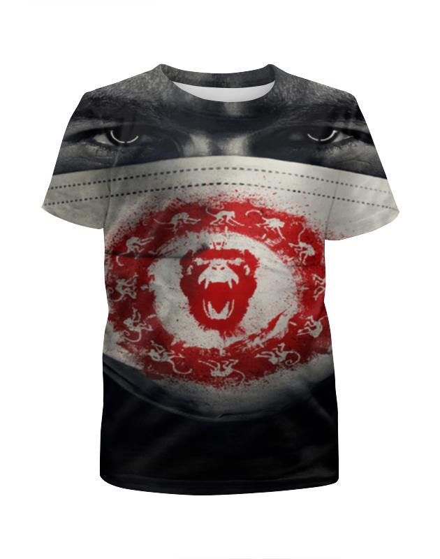 Футболка с полной запечаткой для мальчиков Printio 12 обезьян футболка с полной запечаткой для девочек printio 12 обезьян
