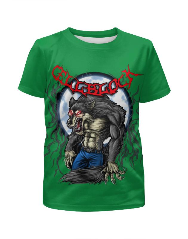 Футболка с полной запечаткой для мальчиков Printio Злобный волк футболка с полной запечаткой для мальчиков printio тату волк