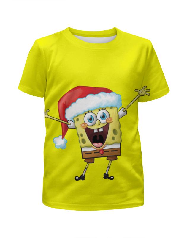 Printio Спанч боб футболка с полной запечаткой для девочек printio спанч боб