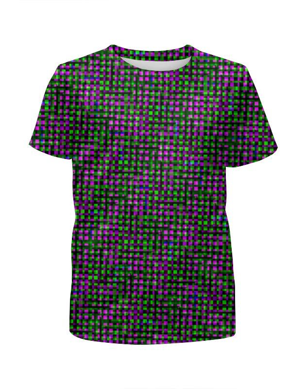 Футболка с полной запечаткой для мальчиков Printio Glitch art (матрица) футболка с полной запечаткой для мальчиков printio glitch art чёрная дыра