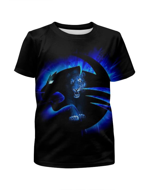 Printio Неоновый тигр футболка с полной запечаткой мужская printio тигр 3d