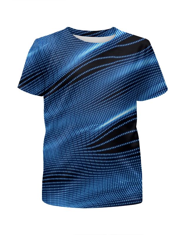 Футболка с полной запечаткой для мальчиков Printio Звуковые волны футболка с полной запечаткой для мальчиков printio bats spawn arsb